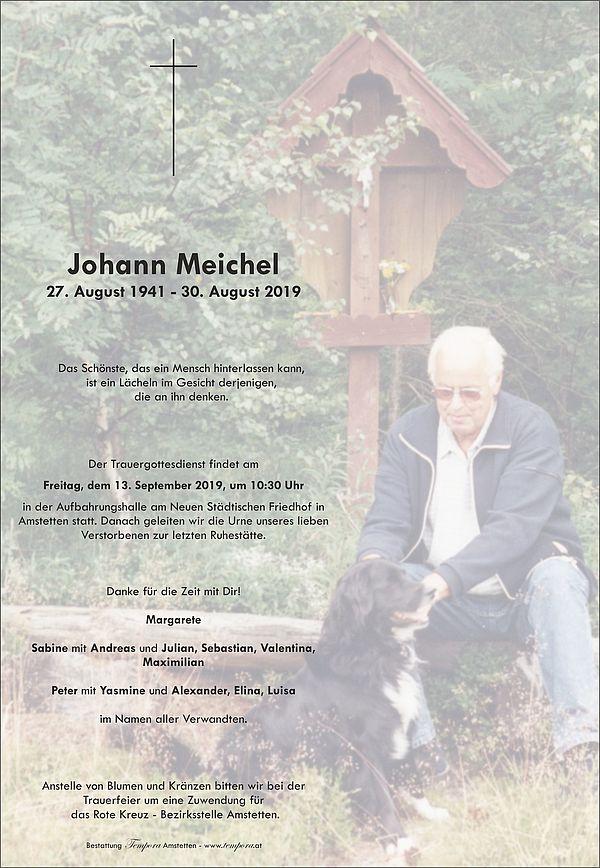 Parte von Johann Meichel