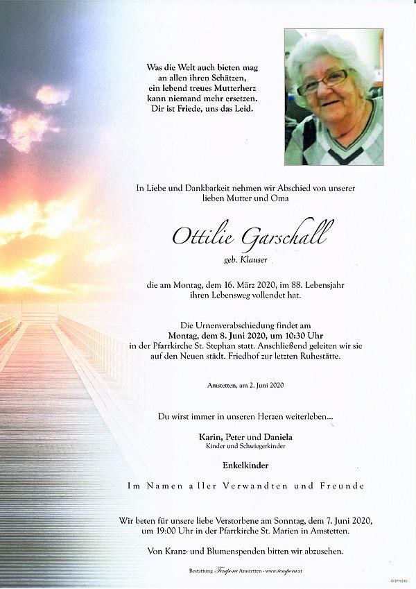 Parte von Ottilie Garschall