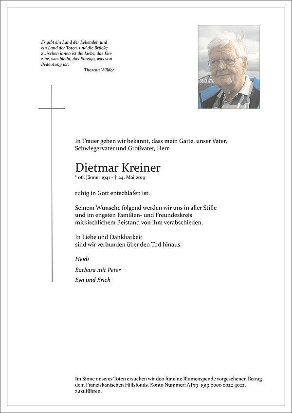 Parte von Dietmar Kreiner