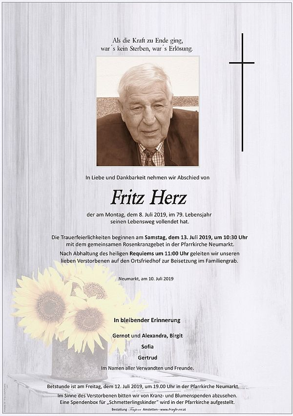Parte von Fritz Herz