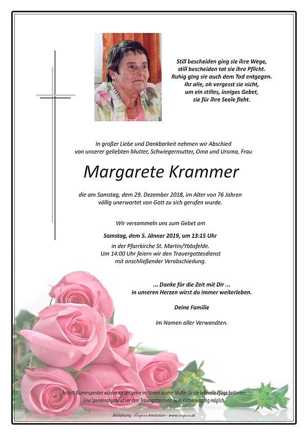 Parte von Margarete Krammer