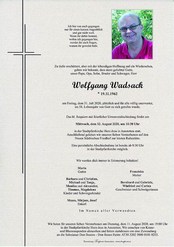Parte von Wolfgang Wadsack