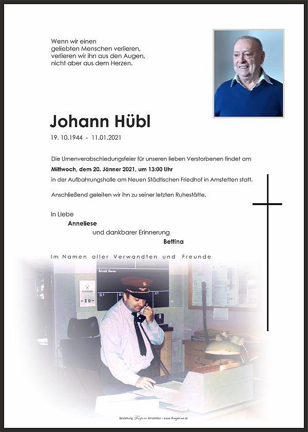 Parte von Johann Hübl