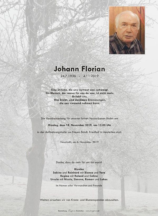 Parte von Johann Florian